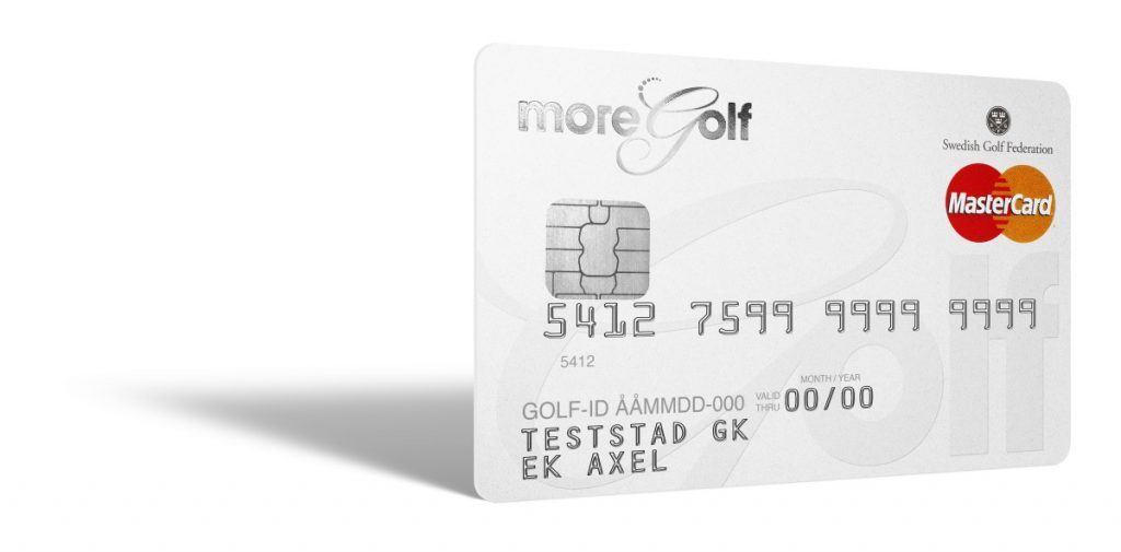 MoreGolf Mastercard är ditt medlemskort med ett integrerat betal- och kreditkort. Kortet ger dig bonus och mängder av förmåner. Kortet är ett samarbete mellan Svenska Golfförbundet och EnterCard.